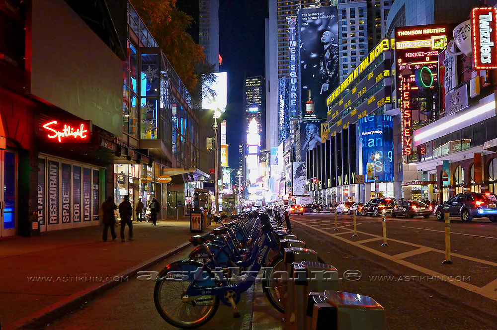Broadway, Times Square, Manhattan, New York City, New York State, USA.