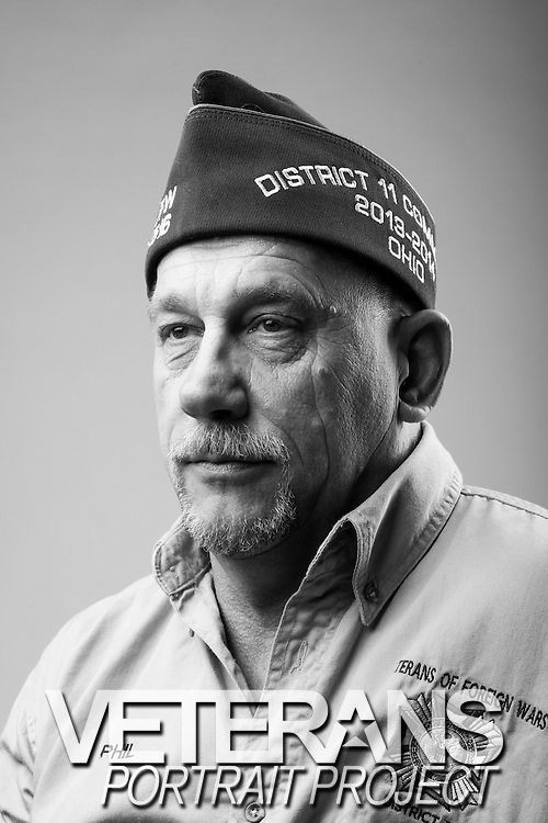 Phillip Karchnick Jr.<br /> Army<br /> E-5<br /> Mechanic<br /> Feb. 1983 - Jun. 1998<br /> Desert Shield, Desert Storm<br /> <br /> Veterans Portrait Project<br /> Louisville, KY<br /> VFW Convention <br /> (Photos by Stacy L. Pearsall)