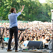 COLUMBIA, MD, -September 10th, 2011 - Australia's Cut Copy was one of many electronic acts that dominated the lineup at  the 2011 Virgin Mobile FreeFest at Merriweather Post Pavilion.  (Photo by Kyle Gustafson/FTWP).