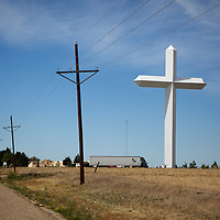 Largest cross in the western hemisphere,  Groom, Texas.A September 2011 Route 66 trip, section 2,  from Joplin, Missouri to San Jon, New Mexico.