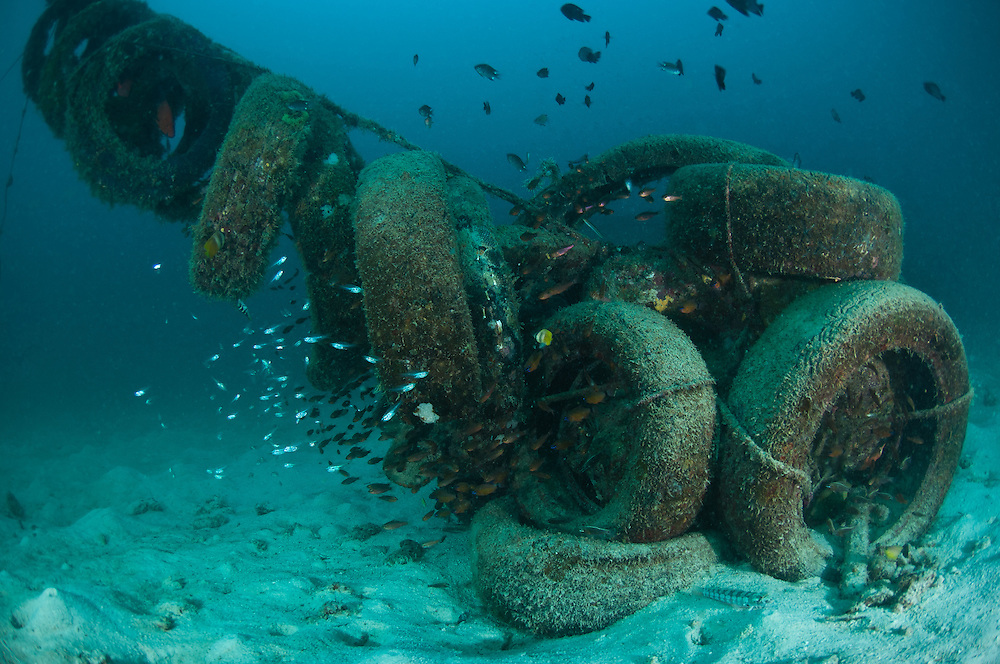 artificial reef with tires pdf