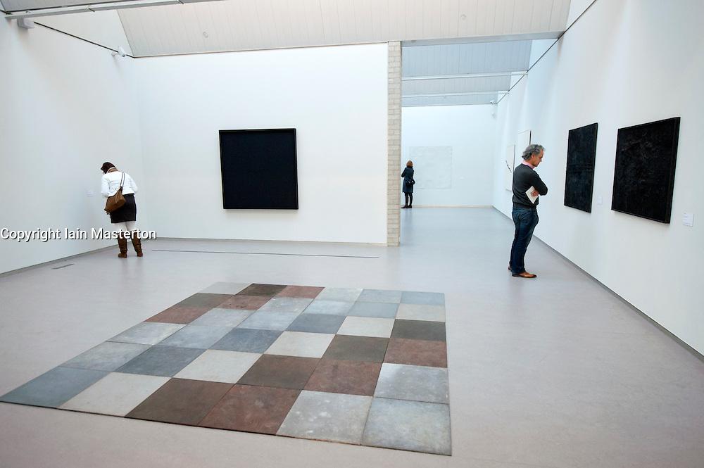 Modern art on display at Kroller-Muller Museum in The Netherlands
