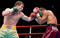 June 10, 2006 - New York, NY - John Duddy takes on Freddie Cuevas at Madison Square Garden in New York City.