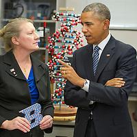 President Obama Visits Boise State University