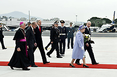 APR 03 2014 The Queen And Duke Of Edinburgh Visit Rome And The Vatican City