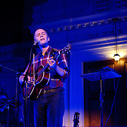 WASHINGTON, DC - October 5th, 2011 - Swedish singer-songwriter Jens Lekman performs at 6th & I Synagogue in Washington, D.C. Lekman released his newest EP, An Argument With Myself, in September.  (Photo by Kyle Gustafson/For The Washington Post).