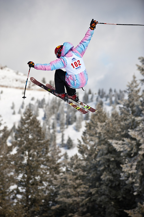 Freestyle action from the USCSA Western Regional Championship event held at Bogus Basin, Boise, Idaho, Feb 17-19, 2011.
