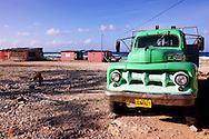 Truck in Caletones, Holguin, Cuba.