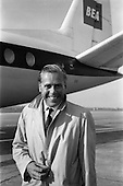 1963 - Kevin McClory, Film Producer arrives at Dublin Airport