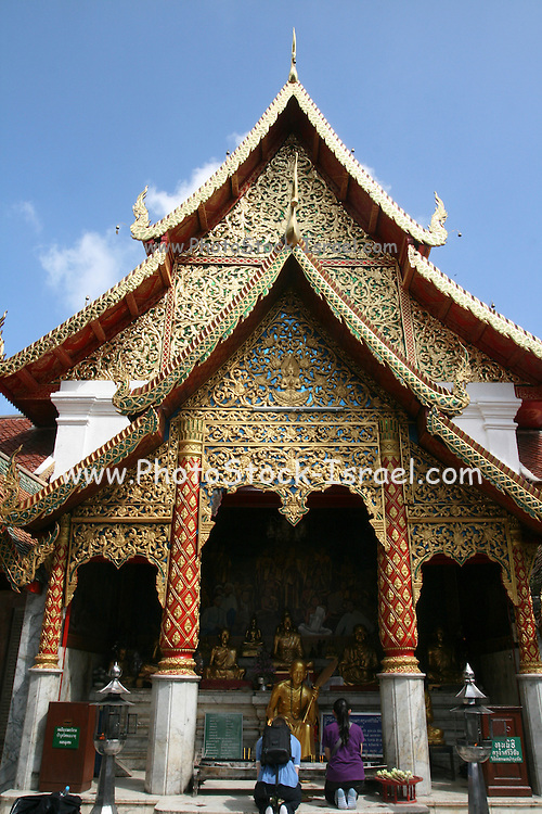 Wat Phrathat Doi Suthep temple, Chiang Mai,Thailand,