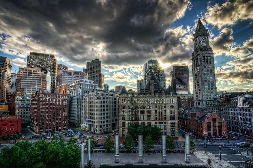 Wharf District Park, Downtown Boston (1)