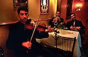 "On ""Istiklal"" street in Beyoglu, old covered markets have been transformed to entertainment areas with many popular restaurants with live Turkish music..ISTANBUL, Androniki Christodoulou/WorldPictureNews"