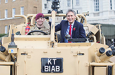 OCT 26 2013 Philip Hammond - Army Reserve, Horseguards Parade