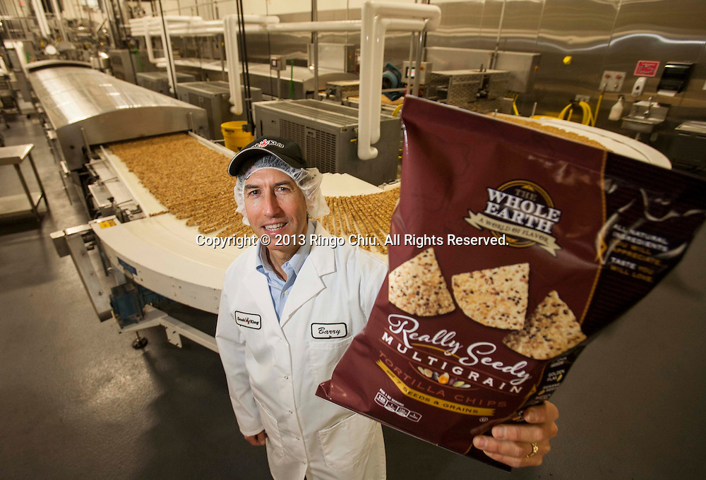 Barry Levin, CEO of Snak King Corp., in City of Industry. (Photo by Ringo Chiu/PHOTOFORMULA.com).