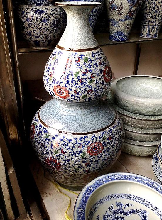 Grey vase floral design