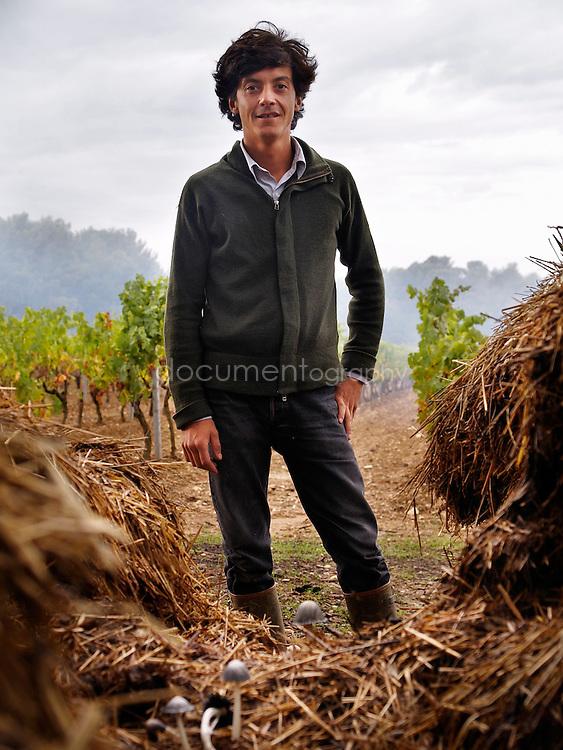 Francois Combard du Domaine Saint André de Figuière, La Londe les Maures, France.