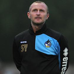 Steve Yates - Photo mandatory by-line: Dougie Allward/JMP - Mobile: 07966 386802 - 14/07/2015 - SPORT - Football - Gloucestershire - Corinium Stadium - Pre-Season Friendly