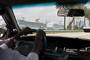 Miami Harbor from Taxi..Florida 2009..Foto © Stefan Falke.