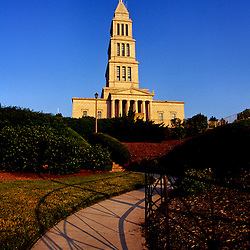 Walkway up to the George Washington Masonic Memorial, Alexandria, Virginia