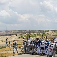 13 Ende Gelände Blockade Braunkohletagebau Welzow-Süd