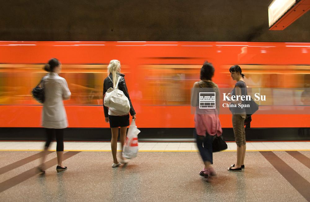Subway, Helsinki, Finland