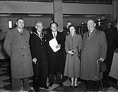 1952 - Opening of St. Andrew Street Post Office, Dublin