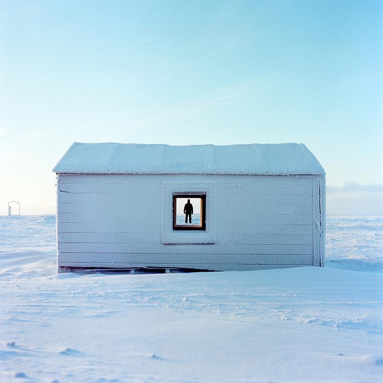 BARROW, ALASKA - 2013: David Taylor.<br /> <br /> 30x30 Print<br /> 35x35 Frame<br /> <br /> Type C Print<br /> <br /> $400.00