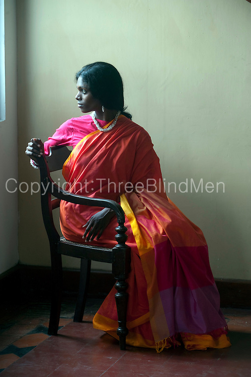 Sari designed and produced by BAREFOOT Pvt Ltd.