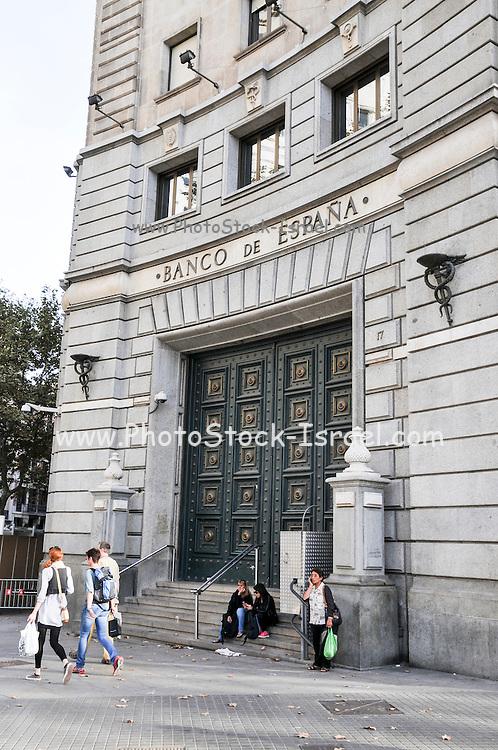 Banco de Espana, Barcelona, Spain