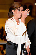 7-11-2014 - AMSTERDAM - Caroline Louise Marguerite Grimaldi, Hereditary Princess of Monaco, the sister of Prince Albert attends on Friday, November 7th at a benefit gala in the Night Watch Room of the Rijksmuseum in Amsterdam as the creation of AMADE Netherlands energy . COPYRIGHT ROBIN UTRECHT