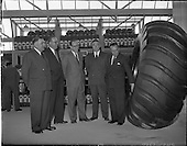 1957 -  Opening of Goodyear Rubber Company's new headquarters at Hanover Street