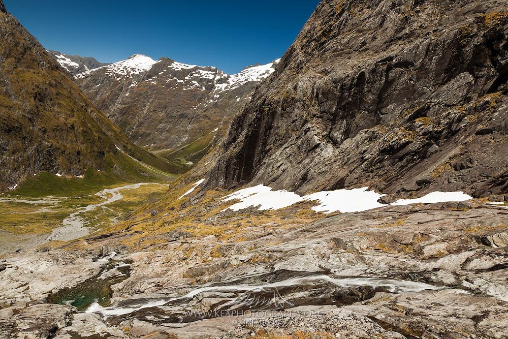 Gertrude Saddle, Fiordland, New Zealand