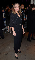 Cassandra Compton attends The 10th What's On Stage Awards at The Prince Of Wales Theatre, London on Sunday 15  February 2015