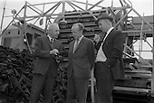 1963 - Minister sees advances in peat productivity by Bord na Mona at Timahoe, Co. Kildare