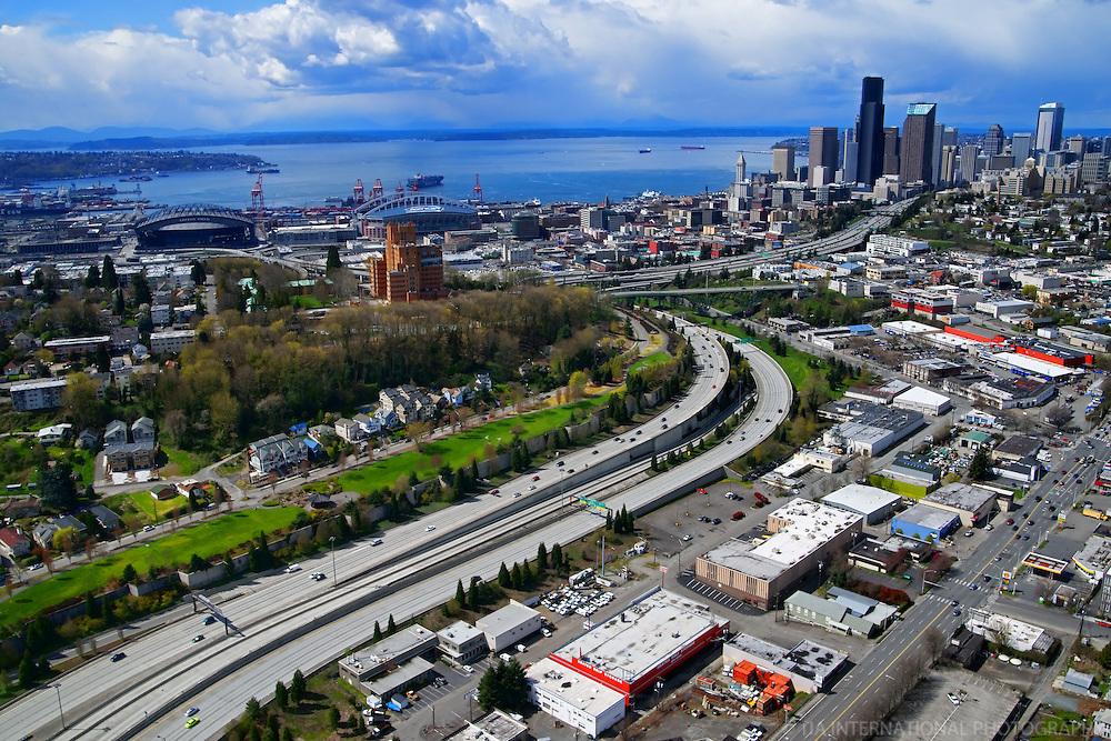 Beacon Hill & Interstate 90, Seattle