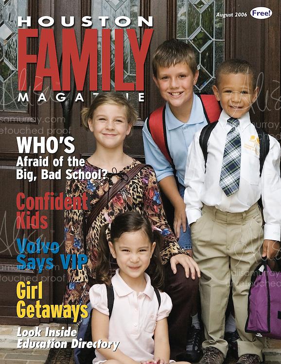 Houston Family August 2006 Cover