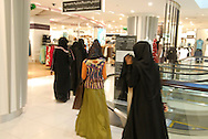 Dubai, UAE. The mall of the Emirates includes an artifitial mini sky resort within its venues. Its a shooping paradise were Arabic culture meets Western.<br />