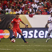 Chile Attacker EDUARDO VARGAS (11) dribbles up the field in the first half of a Copa America Centenario Group D match between the Chile and Panama Tuesday, June. 14, 2016 at Lincoln Financial Field in Philadelphia, PA.