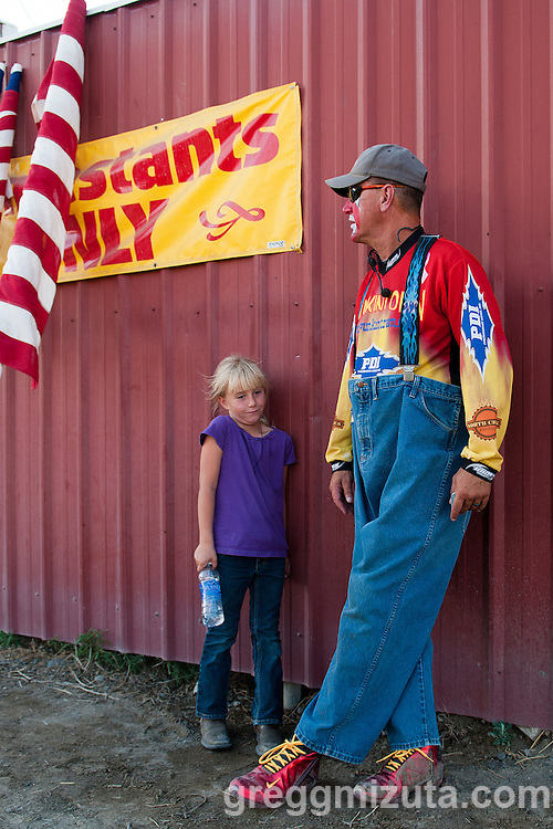 """Frankie """"Punkintown"""" Smith 4th of July Rodeo, Vale Rodeo Arena, Vale, Oregon, July 3, 2015."""