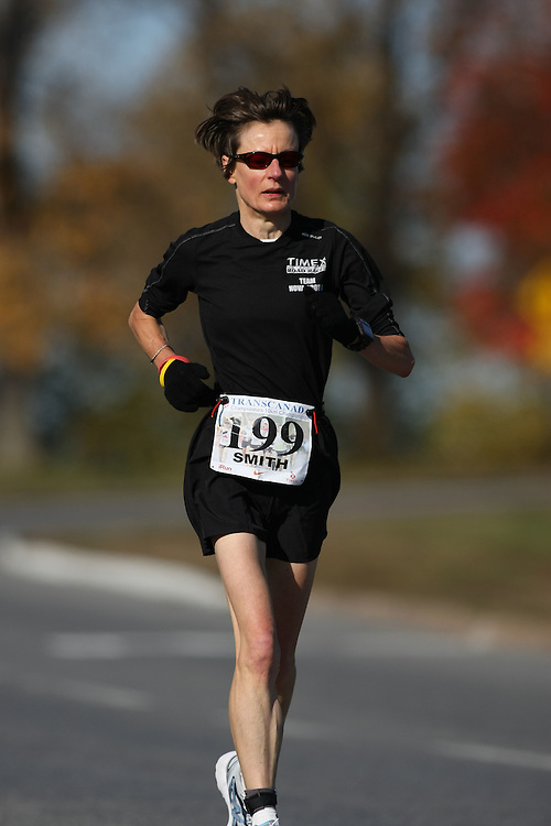 (Ottawa, ON---18 October 2008) JOANNE SMITH competes in the 2008 TransCanada 10km Canadian Road Race Championships. Photograph copyright Sean Burges/Mundo Sport Images (www.msievents.com).