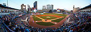MAY 14, 2010: The Toledo Mudhens had a record crowd of 13200 at Fifth Third Field when American Idol Contestant Crystal Bowersox was in to sing the National Anthem for her hometown celebration in Toledo, Ohio.