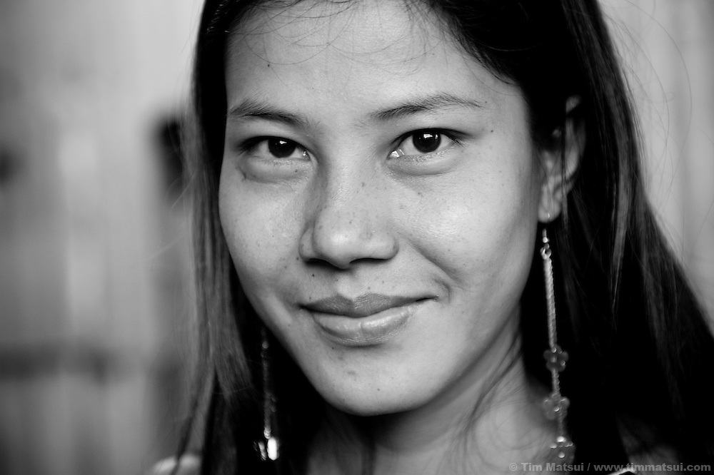 Leena, a sex worker lives in a Phnom Penh slum in Cambodia. The slum's permanent structure, a decaying four story building known simply as 'The Building', was built in the 1960's as transitional housing and now hosts a shantytown where many of the city's poor live, including many prostitutes, and is believed to have the highest rate of HIV infection in the city.
