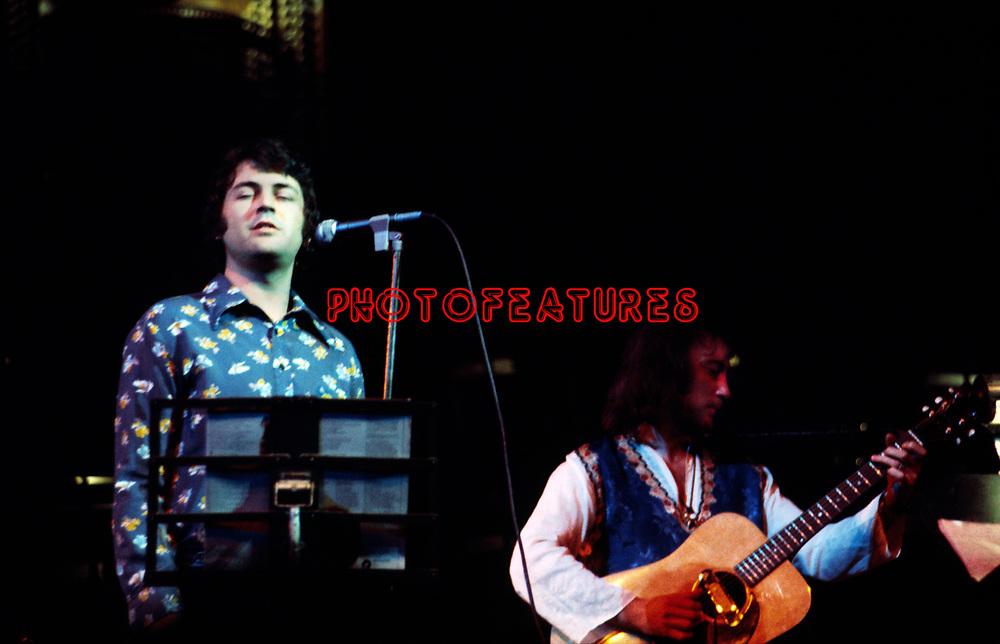 Ian Gillan and Roger Glover 1975 (Deep Purple) at Butterfly Ball at Royal Albert Hall<br /> &copy; Chris Walte