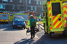 2017-04-09 Major emergeny in Tower block fire in Southampton