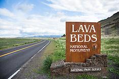 Lava Beds National Monument - California Photos