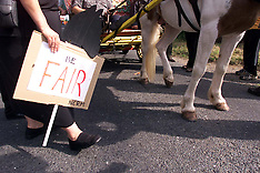 SEP 10 2000 Gypsy Fair Protest in Horsmonden
