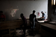 Bakers work non stop in the Abbassia neighborhood of Cairo, Egypt.