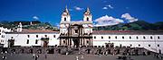 ECUADOR, COLONIAL QUITO Monastery of San Francisco