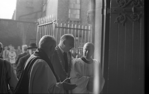 The State Funeral of Sir Alfred Chester Beatty at St. Patrick's Cathedral, Dublin..29.01.1968