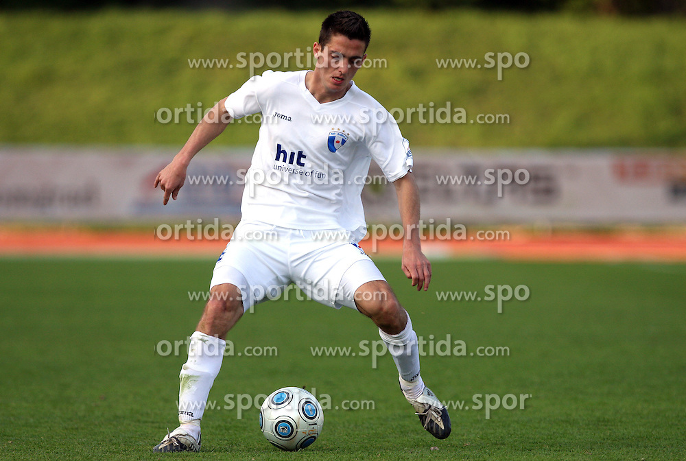 Gorazd Gorinsek of Hit Gorica at 28th Round of Slovenian First League football match between NK Interblock and ND Hit Gorica ZAK Stadium, on April 11, 2009, in Ljubljana, Slovenia. Gorica won 2:1. (Photo by Vid Ponikvar / Sportida)